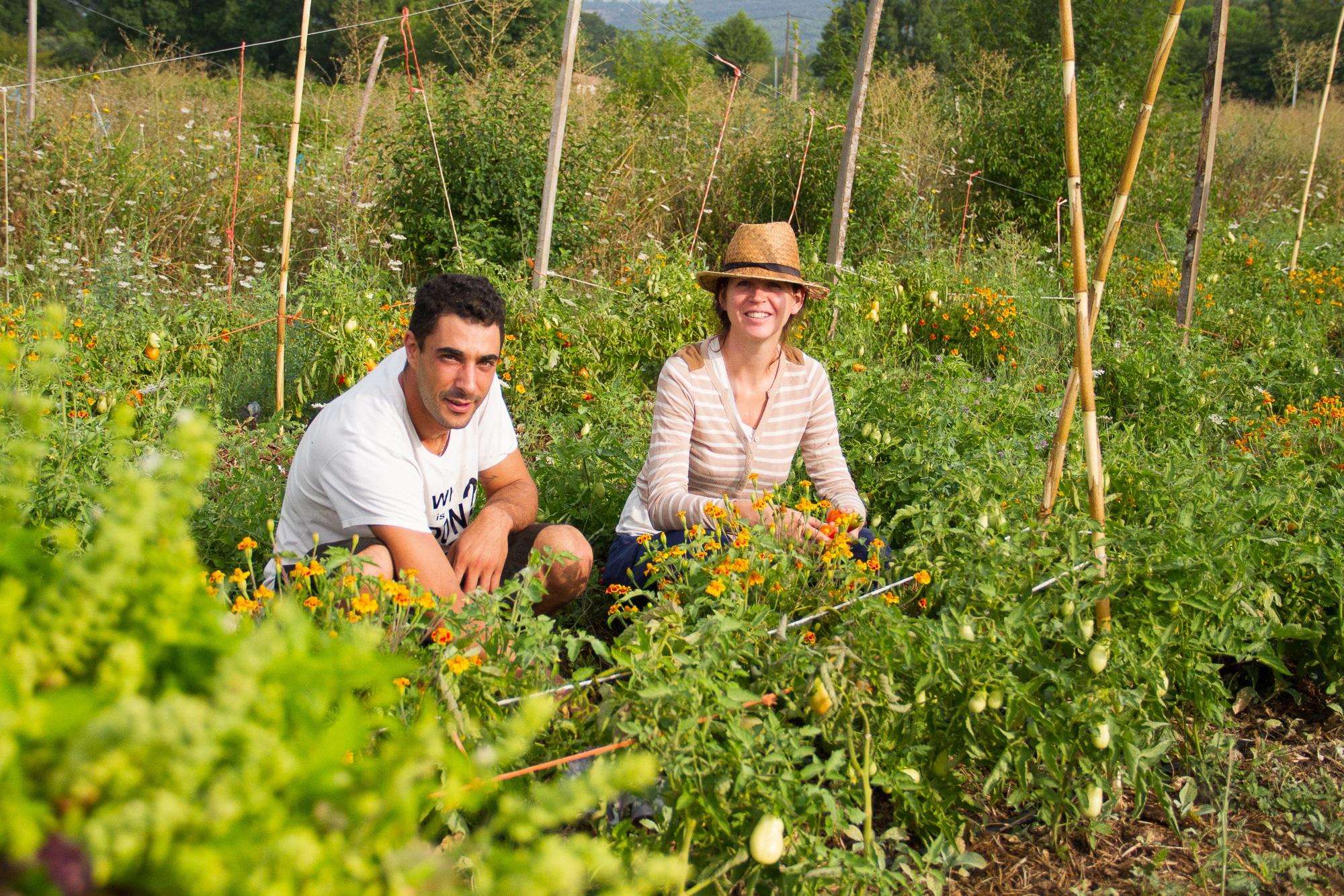la ferme de Prétuillière-producteur engagé- couple